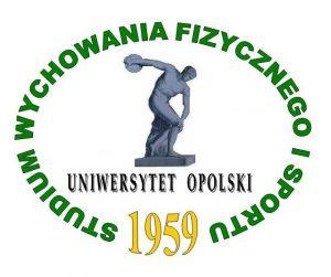 Logo Studium Wychowania Fizycznego i sportu Uniwersytetu Opolskiego