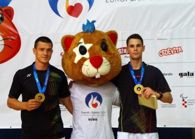 Badmintoniści na Europejskich Igrzysk Studenckich w Chorwacji 2016